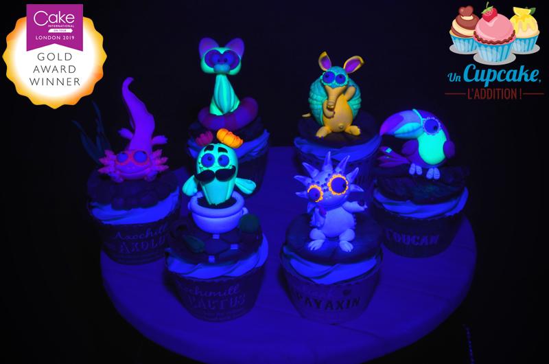 Cupcakes « Alebrijes Mexicains »