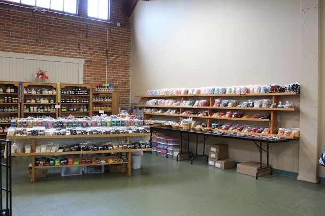 Indoor market at Freight House Farmers' Market in Davenport, Iow