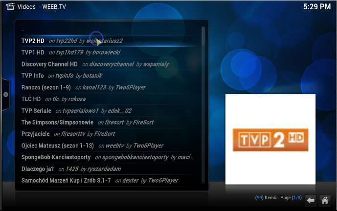 Weeb Tv Android Plugin