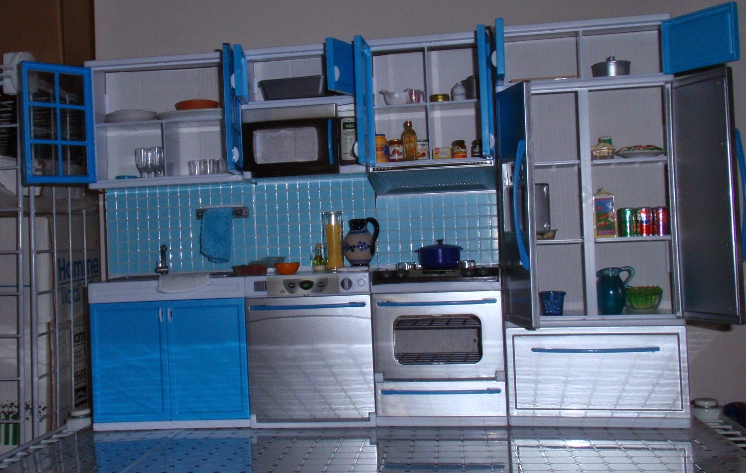 My Little Doll Corner Modern Kitchen Out Of The Box