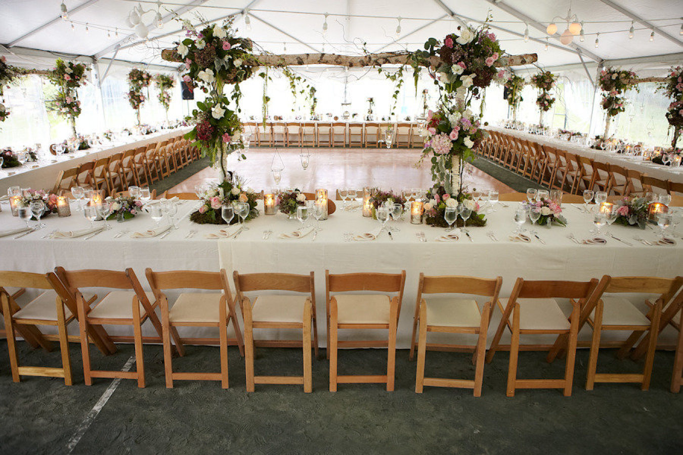 Aisle say unique floor plans for your wedding for Wedding reception layout