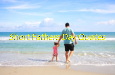 Short Happy Fathers Day 2017 Quotes