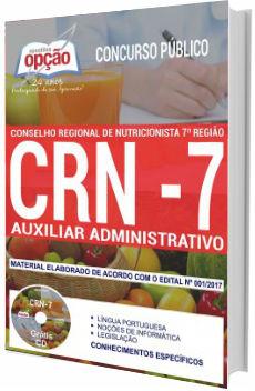 Apostila Concurso CRN 7ª região 2018 Auxiliar Administrativo