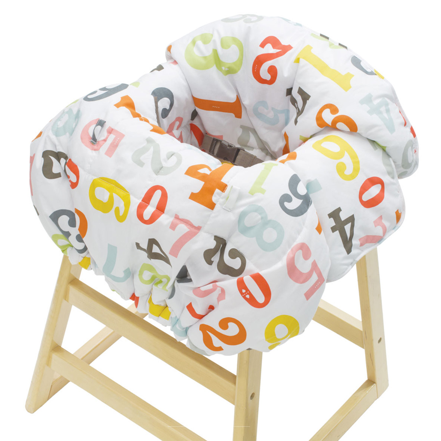 Restaurant High Chair Cover Protect Your Baby From Germs With Infantino S Cloud Shopping Cart