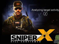 Download SNIPER X FEAT JASON STATHAM MOD APK 1.4.2 Terbaru 2017