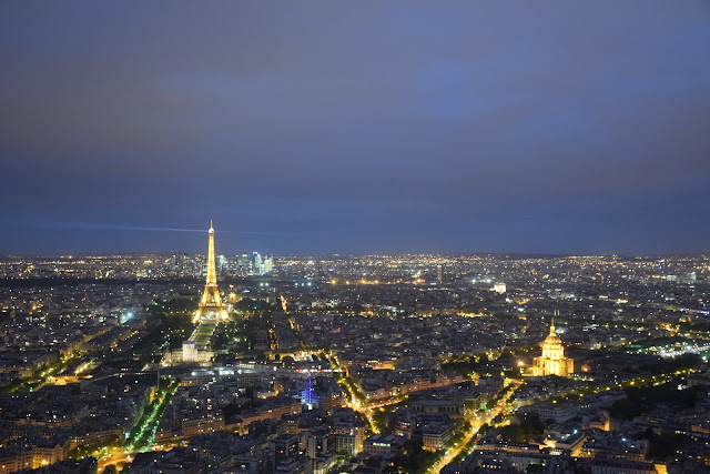 Montparnasse Tower | Best of Paris in evening, an evening in Paris