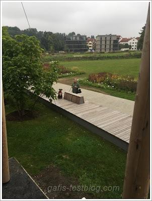 Aussicht über den Bürgerpark