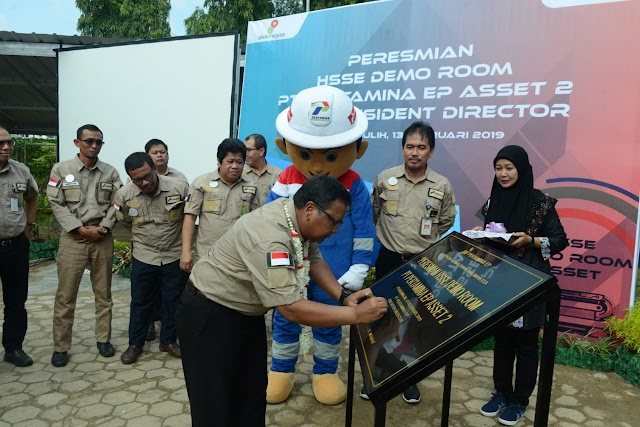 Pertamina EP Asset 2 Dirikan HSSE Demo Room Dan Training Center