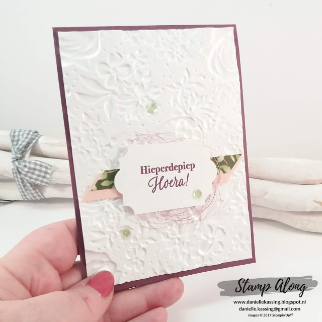 Stampin' Up! Country Floral Dynamic Textured Impressions Embossing folder, teamdag Lovely Stampers