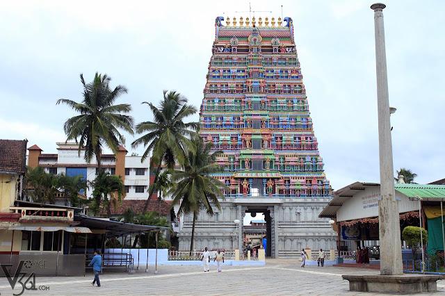Gopura of Sringeri Temple Complex