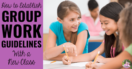 How To Establish Group Work Guidelines With A New Class