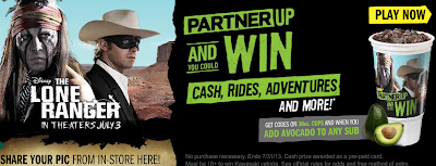 Partner Up and Win w/ Subway