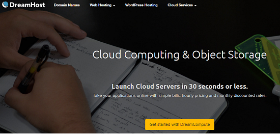 cloud product.DreamHost