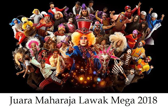 Tahniah Shiro Juara Maharaja Lawak Mega 2018