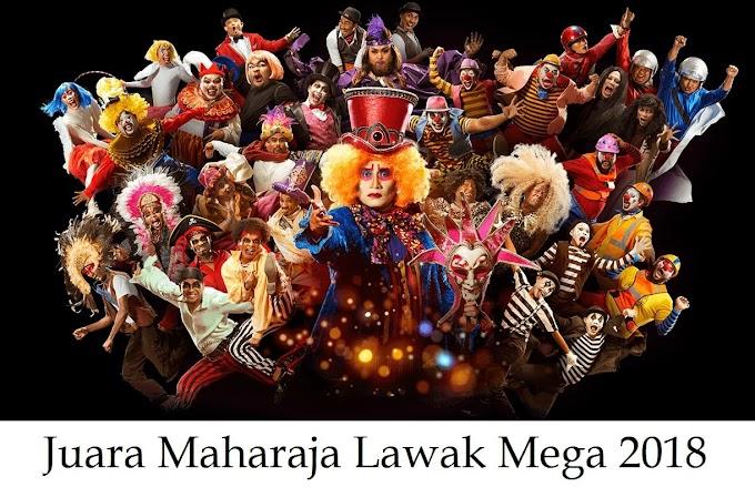 Kumpulan Shiro Jadi Juara Maharaja Lawak Mega 2018