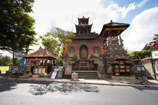 Tempio Ubud centro-Bali