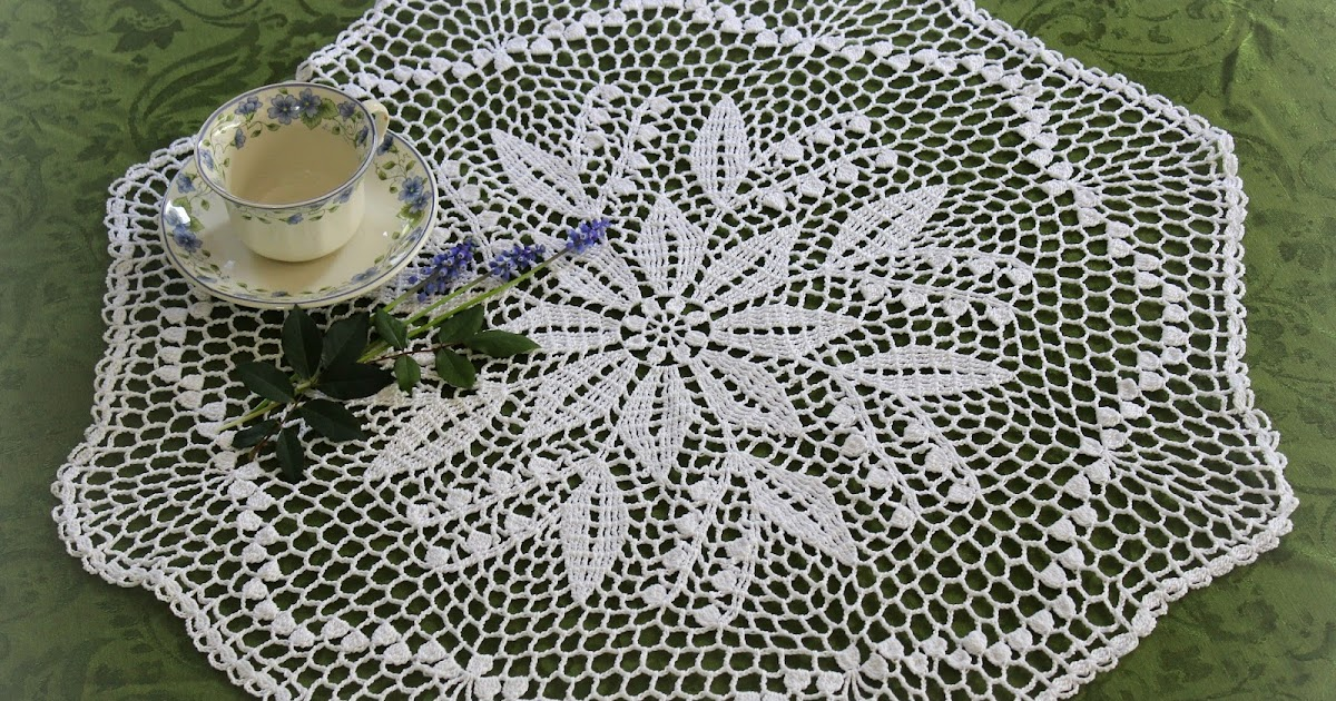 Lacy Crochet: Lily of the Valley Doily, Free Vintage Pattern