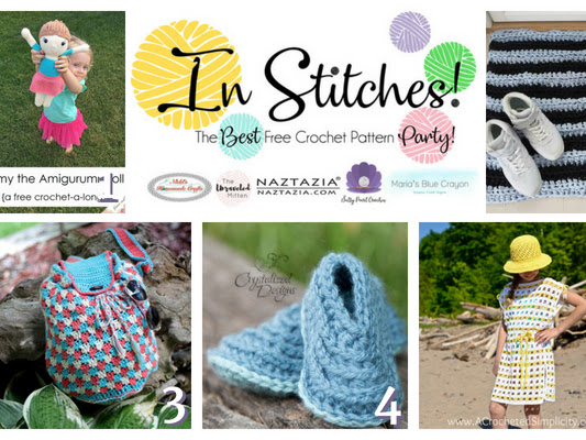 Best Free Crochet Patterns - In Stitches Link Up Party Week #14
