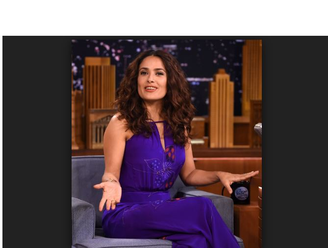 salma hayek jimmy fallon entrevista