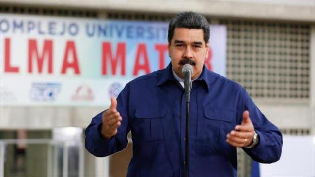 Maduro condena y atribuye a la derecha atentado contra Falcón