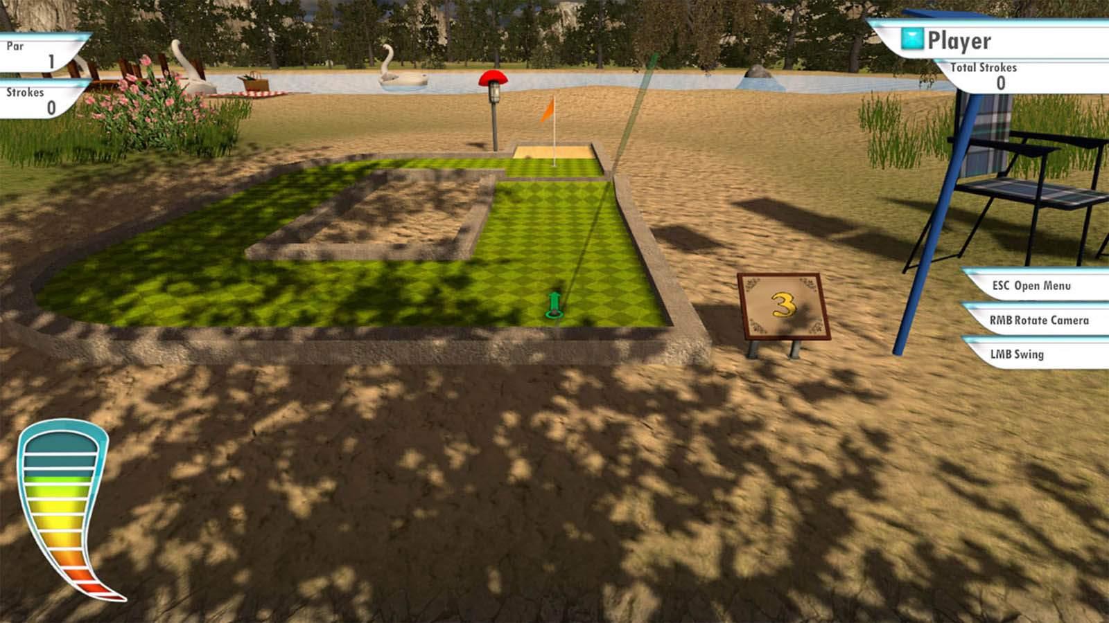 تحميل لعبة 3D MiniGolf مضغوطة برابط واحد مباشر كاملة مجانا