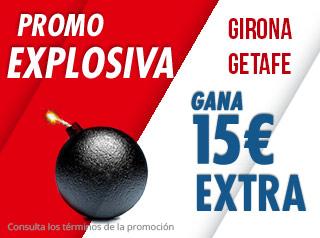 suertia promocion Girona vs Getafe 21 diciembre