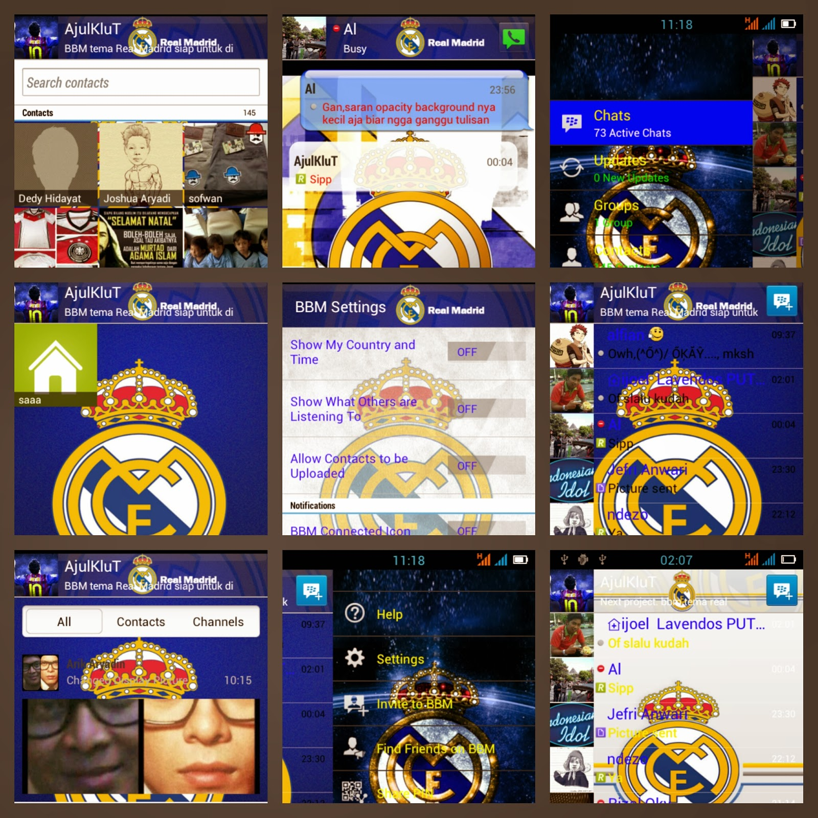Download Tema Real Madrid Untuk Blackberry Bold 9700