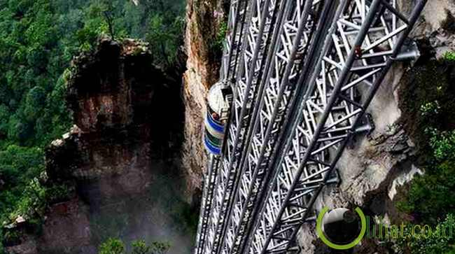 Bailong Lift, Cina