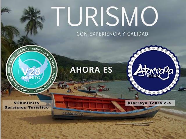 V28INFINITO SERVICIOS TURISTICO AHORA ES ATARRAYA TOURS C.A