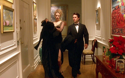 Eyes Wide Shut, Directed by Stanley Kubrick, Tom Cruise and Nicole Kidman as Bill and Alice