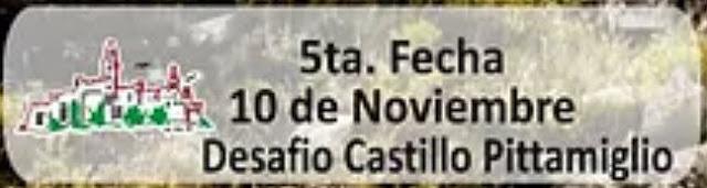 Desafío Castillo Pittamiglio (trail en balneario Las Flores - Piriápolis - Maldonado, 10/nov/2019)