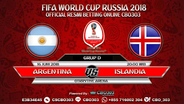 Prediksi Bola Piala Dunia 2018 Argentina VS Islandia 16 Juni 2018 Grup D