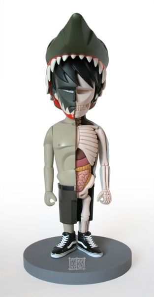 ArtHouse: Jason Freeny : Anatomical Barbie and Sculptures