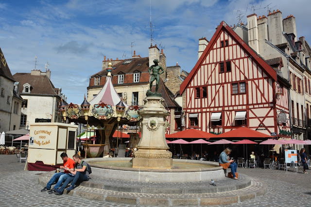 Dijon fountain