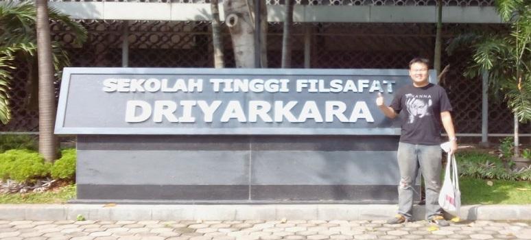 Pendaftaran Online Calon Mahasiswa Baru (STF Driyarkara) Sekolah Tinggi Filsafat Driyarkara
