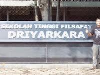 PENDAFTARAN MAHASISWA BARU (STF Driyarkara) 2021-2022