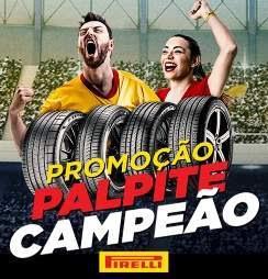 Cadastrar Promoção Pirelli 2018 Palpite Campeão Copa do Mundo Rússia