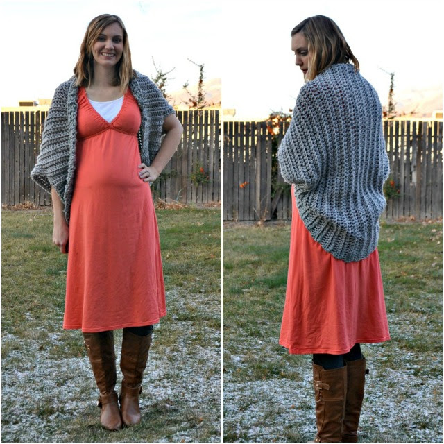 Me Made: Maternity Dress and Cocoon Cardigan