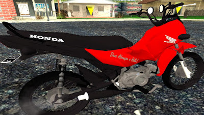 HONDA POP 110 I EDIT  para GTA San Andreas , GTA SA , Gta san