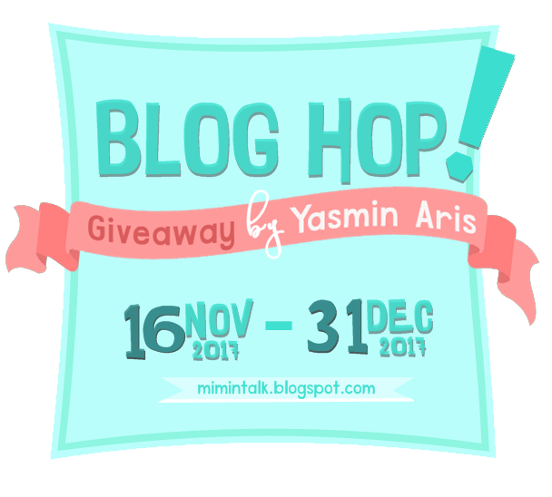 Blog Hop! Giveaway by Yasmin Aris