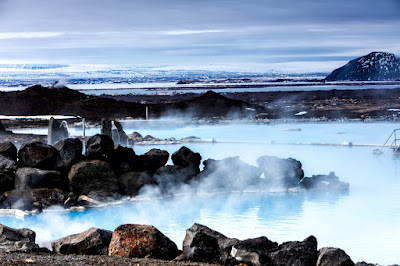 The Volcanic Mývatn Nature Baths are like Reykjavik's Blue Lagoon
