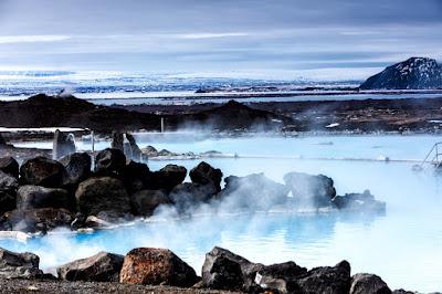 The Volcanic Mývatn Nature Baths are like Reykjavik's Blue Lagoon