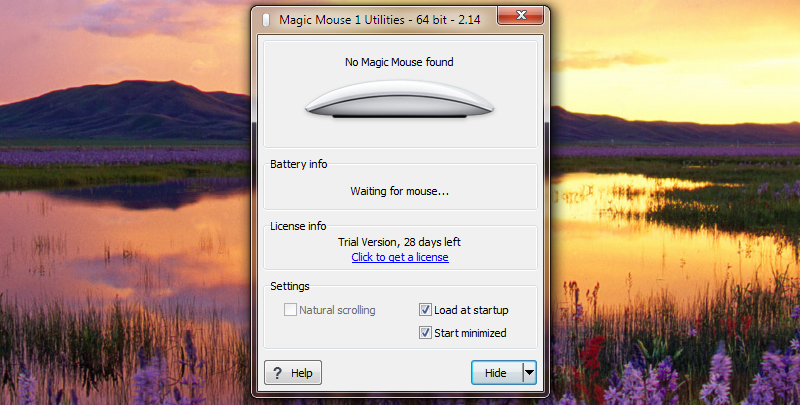 Install Magic Mouse on Windows