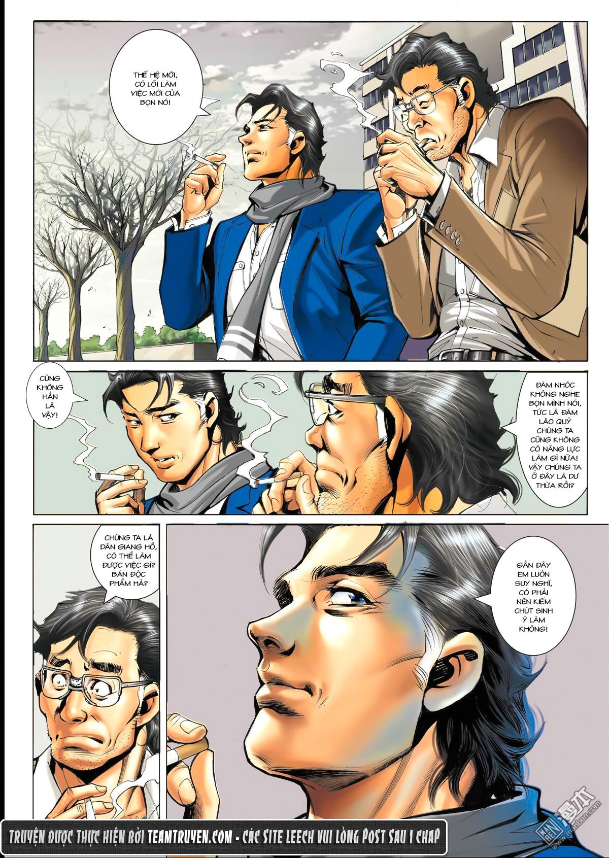 Người Trong Giang Hồ NetTruyen chap 1564 - Trang 16
