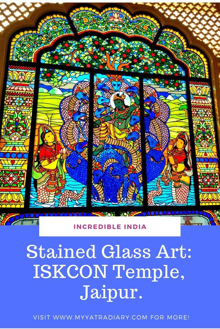 Pinterest ISKCON Temple Jaipur - Stained Glass Windows