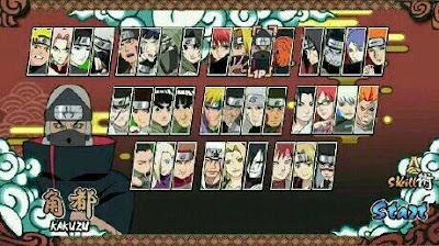 Naruto Senki Mod Full Characters