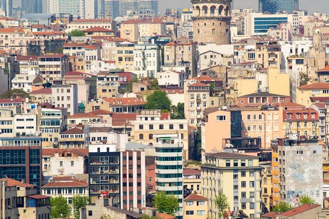 Panorama dal Mihrisah café-Istanbul