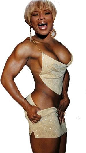 Mary j blige nude