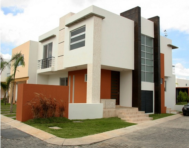 Colores para fachadas de casas modernas fachadas de - Pinturas para fachadas de casas ...