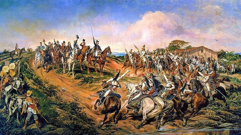 Independência ou Morte! (O Grito do Ipiranga) - Pedro Américo - Brasileiro